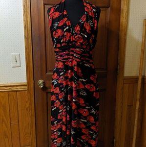 Evan Picone Halter Dress sz 16